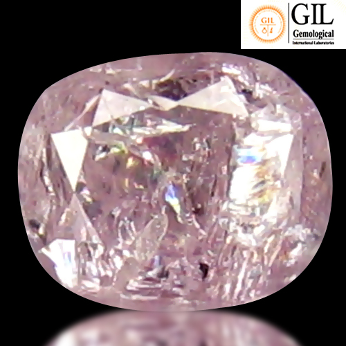 DD185 Certified Oval 0.13ct 3.11x2.57x1.94 mm Natural Unheated Untreated Pink Diamond, Africa