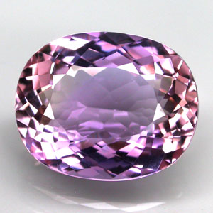 AE130 Clean Oval Facet 6.31ct 13.6x11x7mm Natural Unheated Ametrine, Bolivia