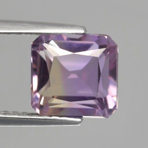 AE135 VS Octagon 2.53ct 7.5x7.3x5.7mm Natural Untreated Yellow & Purple Ametrine, Bolivia