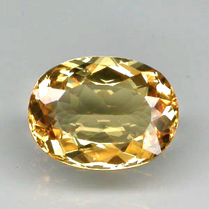 BL100 VVS Oval 9x6.8mm 1.56ct Natural Unheated Golden Yellow Beryl