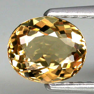 BL101 VVS Oval 7.4x6.2mm 1.04ct Natural Unheated Golden Yellow Beryl