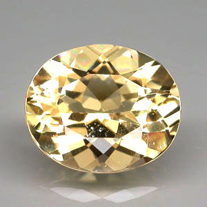 BL105 Big Oval 4.50ct 12x10mm Natural Unheated Golden Yellow Beryl Brazil