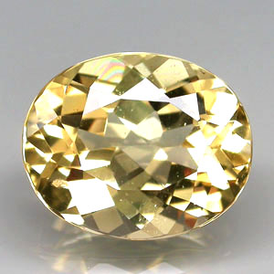 BL117 VS Oval 3.45ct 11x9x6mm Natural Unheated Golden Yellow Beryl, Brazil