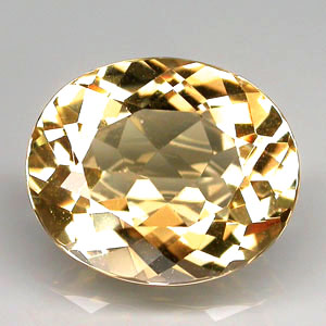 BL118 Oval 4.44ct 12x10x6mm Natural Unheated Golden Yellow Beryl, Brazil