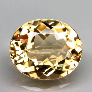 BL119 VS Oval 4.59ct 17x10x6mm Natural Unheated Golden Yellow Beryl, Brazil