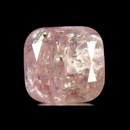 DD187 Certified Cushion 0.17ct 2.8x2.7x2.09mm Natural Unheated Untreated Pink Diamond, Africa