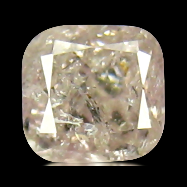 DD193 HKD Certified Cushion 0.14ct 2.8mm Fancy Pink Natural Pink Diamond