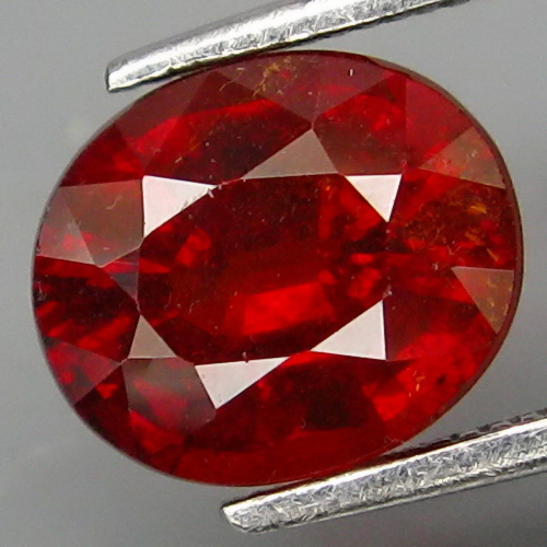 GS015 Good Color & Full Fire Natural Imperial Spessartite Garnet Africa 2.20Ct