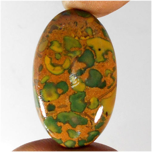 JP109 Oval Cabochon 42ct 21x35mm Natural Jasper, Africa
