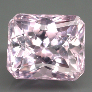 [KZ001] Clean Antique Cut 11.80Ct 13x11x10mm Silver Pink Natural Kunzite, Brazil