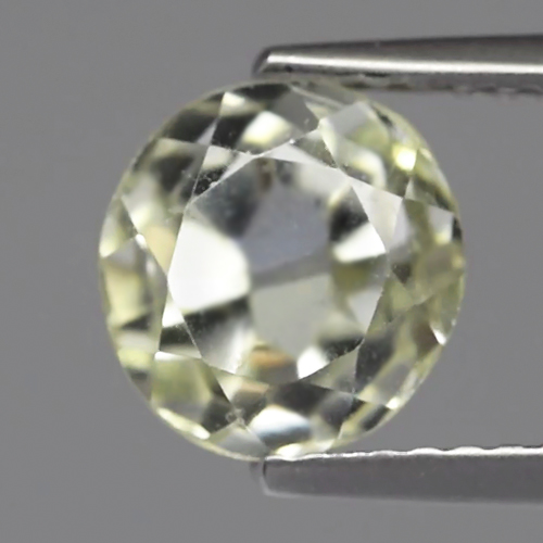 SD101 Semi Round 2.37ct 7.7x7.3mm Unheated Light Yellow Natural Spodumene Hiddenite, Africa