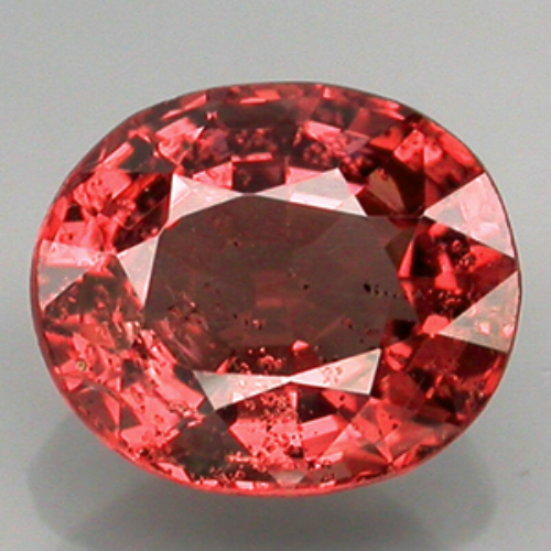 [SL003] Oval 1.16ct 7x6.3mm Natural Unheated Untreated Padparadsha Color Spinel, Srilanka