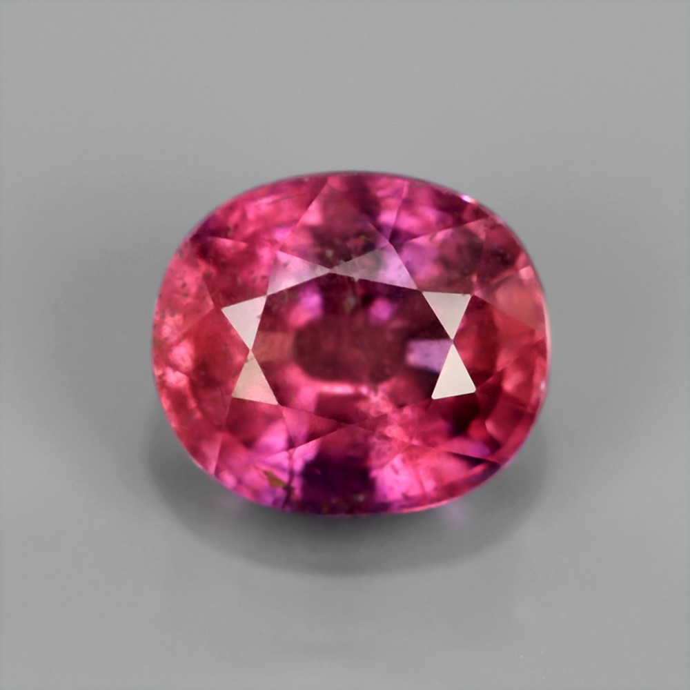 [SP012] Certified 1.34ct 6.5x5.5mm Cushion Natural Unheated Untreated Purplish Pink SAPPHIRE, Winza Tanzania