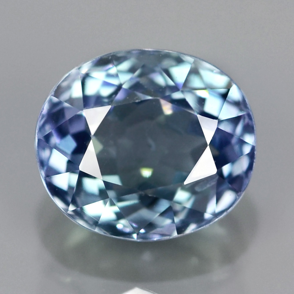 [TZ007] Cushion 1.81Ct 7.5x6.5mm Natural Multi-Color Tanzanite, Tanzania