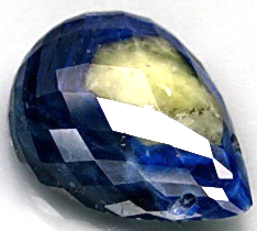 HY685 Natural Bi Color Sapphire 8.90ct Drilled