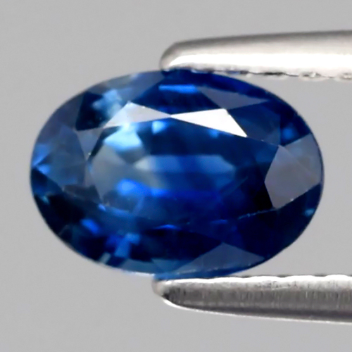 SP102 Certified 0.90ct 7x5mm Oval Natural Standard Heated Royal Blue SAPPHIRE